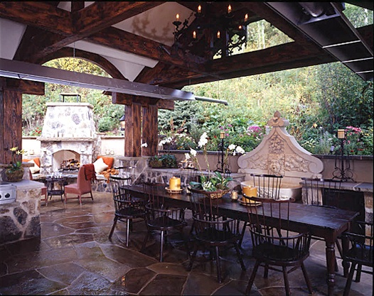 covered outdoor kitchens and patios 17 Best images about Outdoor Covered Kitchens on Pinterest