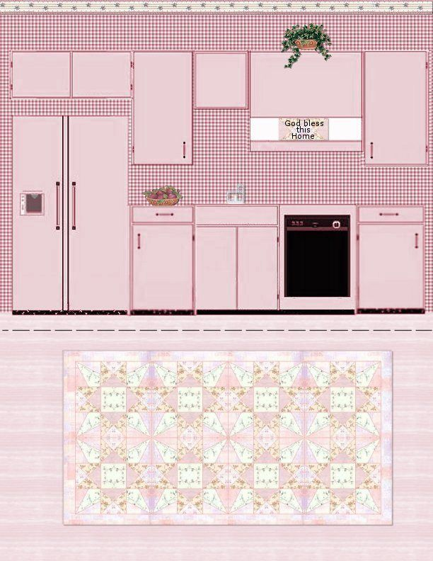 Printable Dollhouse Kitchen Furniture