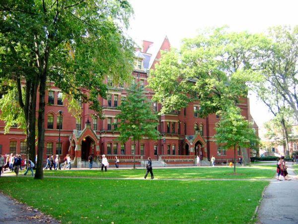 Le campus d'Harvard à Cambridge (Massachussets) # 20 ...