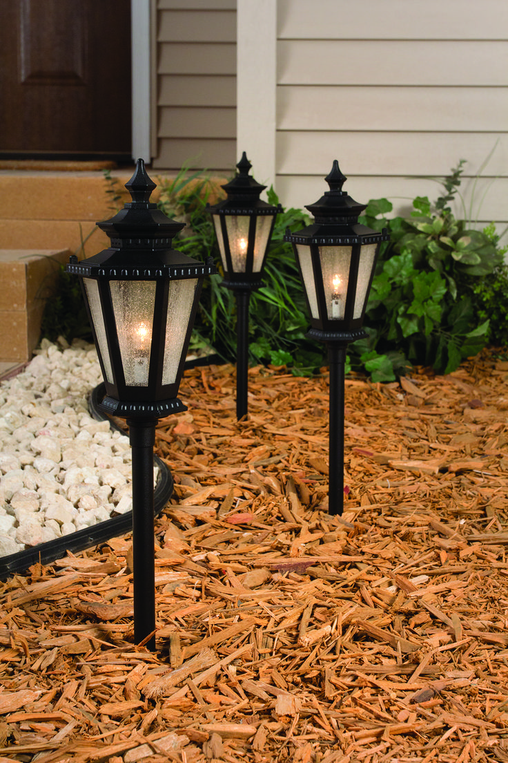 these path lights make the perfect accent to your walkway on awesome deck patio outdoor lighting ideas that lighten up your space id=27275