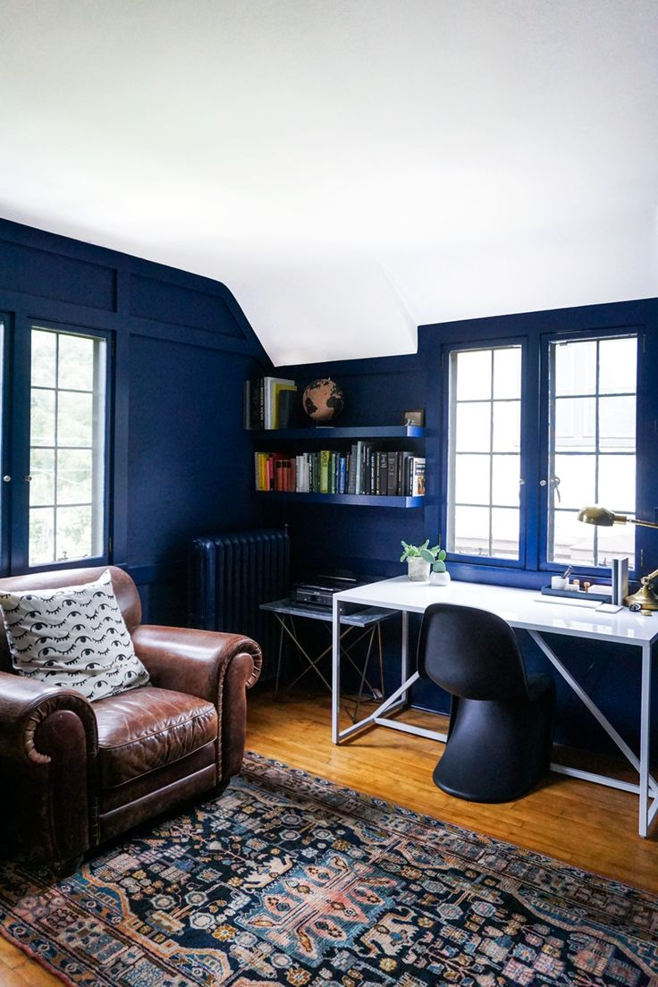 492 best images about small offices on pinterest on blue office color id=63425