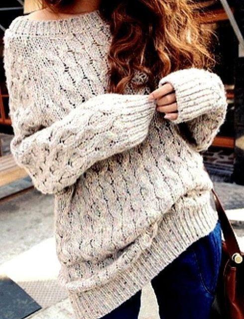 Cozy oversized sweater