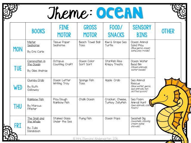 Best 25+ Preschool Themes Ideas On Pinterest