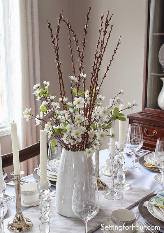 Spring Table Decor Ideas Floral Arrangements Centre