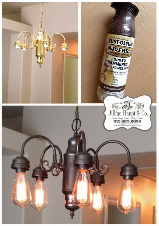 Best 25 Spray Painted Chandelier Ideas On Pinterest Paint Light Fixture Makeover And