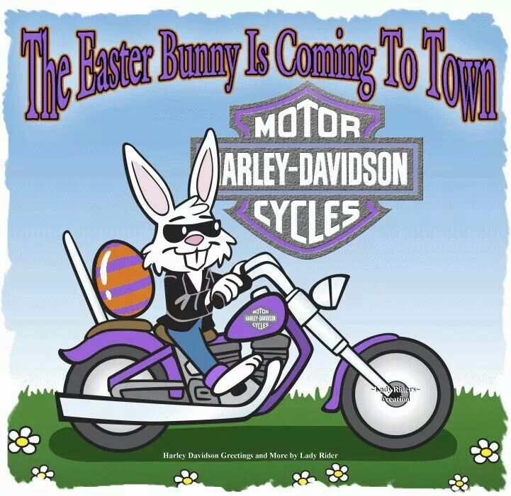 Happy Easter Harley Davidson Pinterest Happy Easter