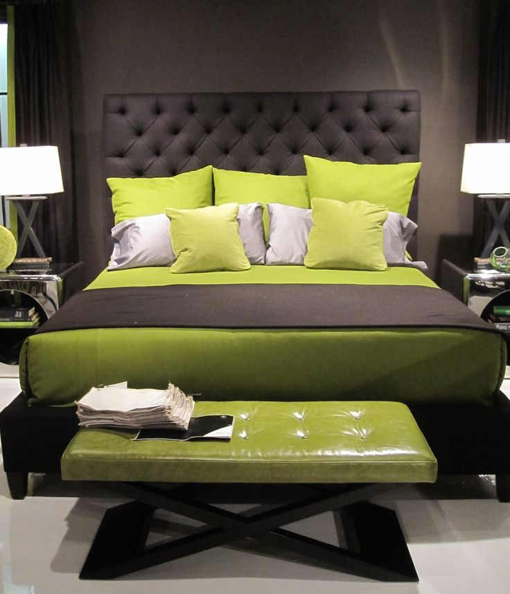 25 Best Ideas About Lime Green Bedding On Pinterest