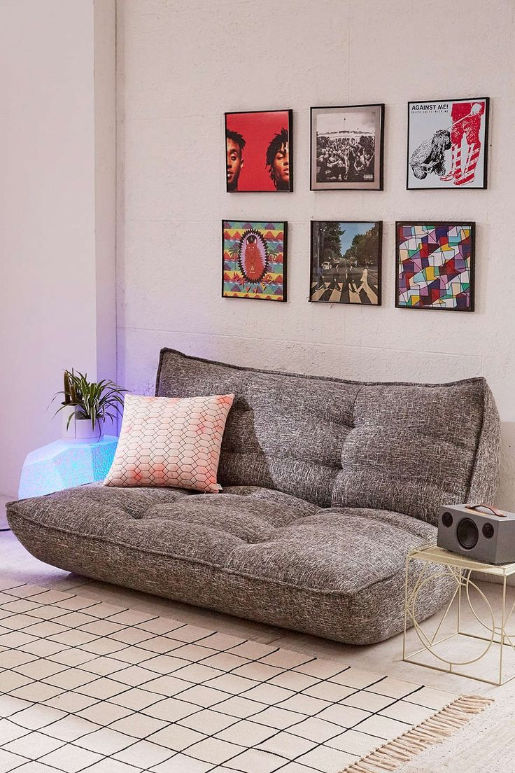 1000 Futon Ideas On Pinterest Futon Bedroom Spare Room Office And Futons