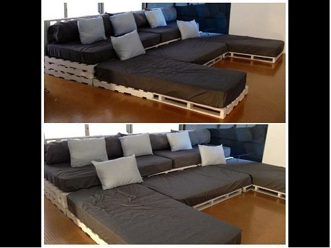 paletten sofa. Black Bedroom Furniture Sets. Home Design Ideas