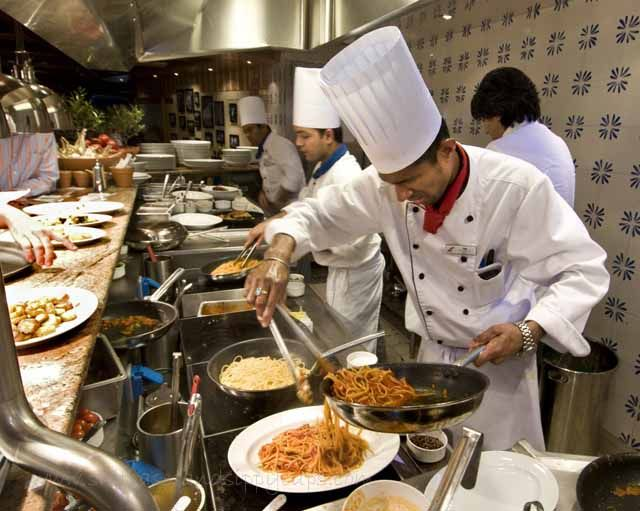 Places To Eat Including Specialty Restaurants Aboard The