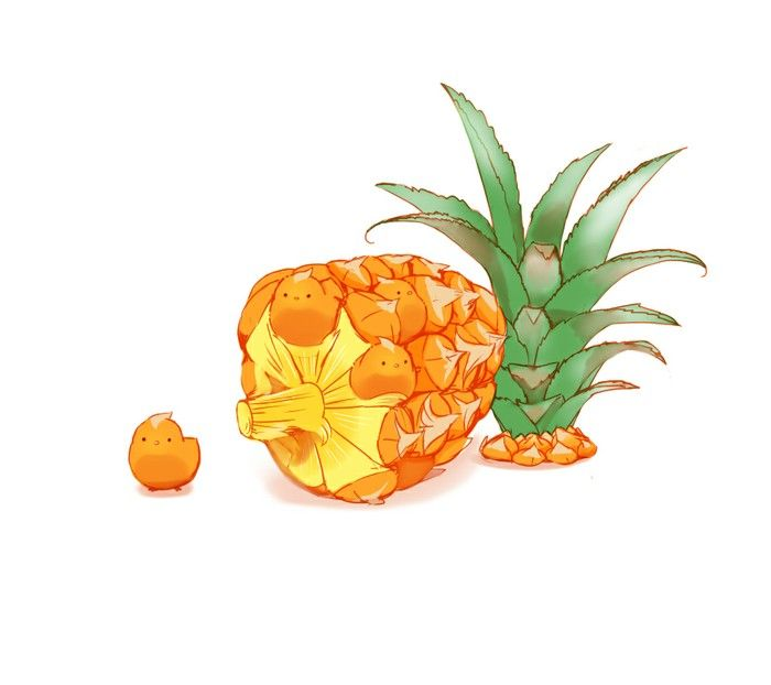 1000 Ideas About Cartoon Pineapple On Pinterest How To