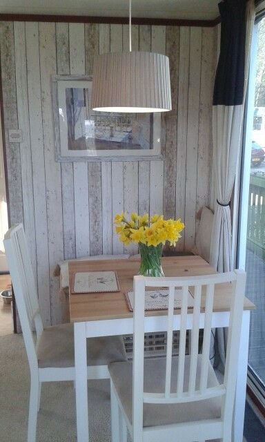 Dining Room Makeover In Our Static Caravan Glamping