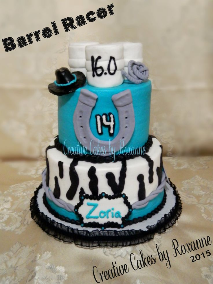 Barrel Racer Cake For A Girl That Loves To Compete Https
