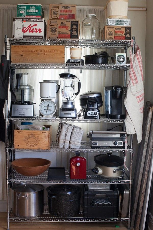 1000 Images About Kitchen Storage Solutions On Pinterest Coffee Carts Pot Lids And Barn Wood