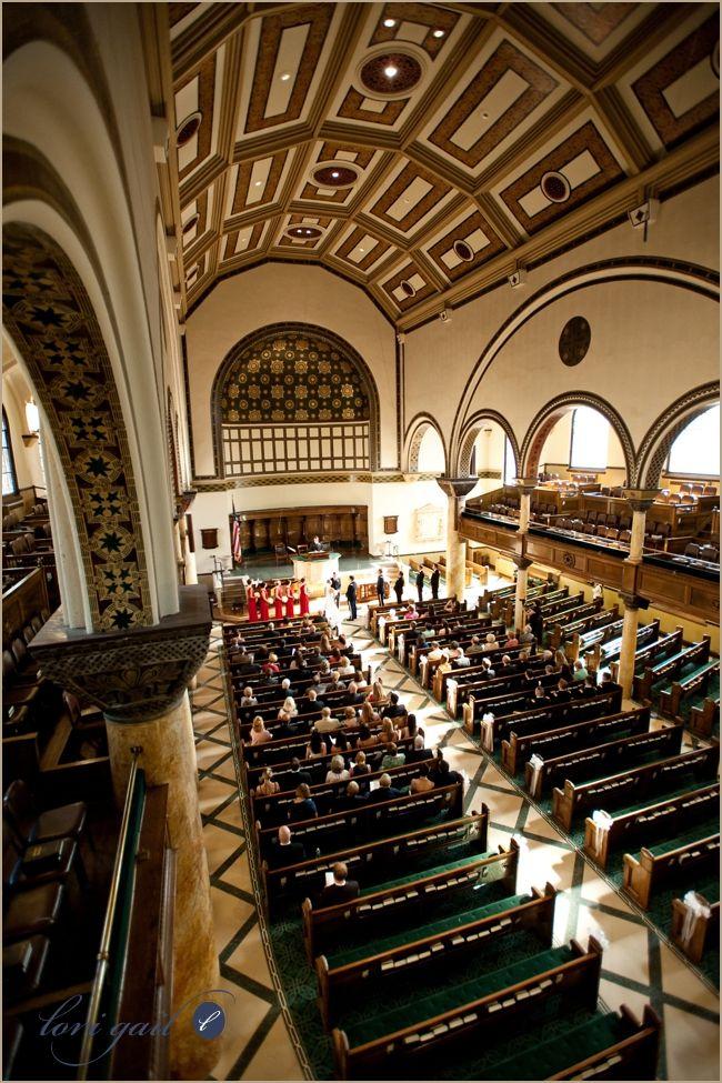 Tenth Presbyterian Church Interior Wedding Wedding Day