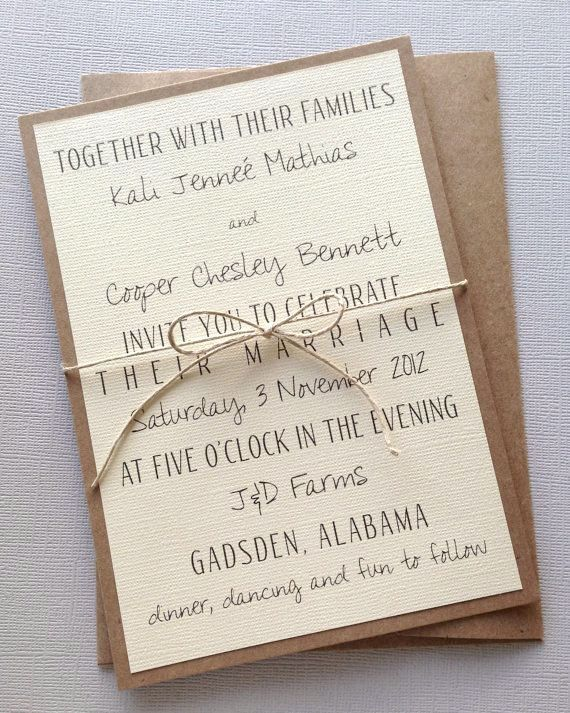 Addition Of Love Script Wedding Invitations Ideas