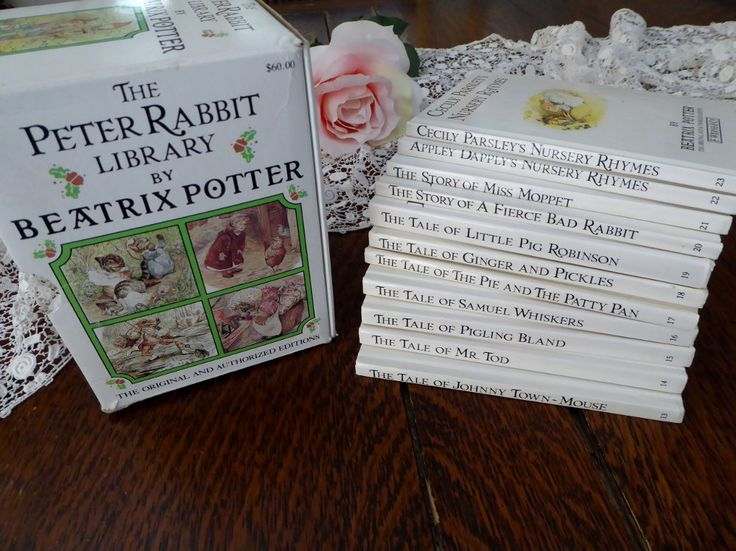 25 Best Ideas About Beatrix Potter Book Set On Pinterest