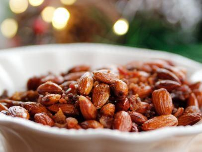 Sweet Spicy Smokey Roasted Almonds Christmas Goodies