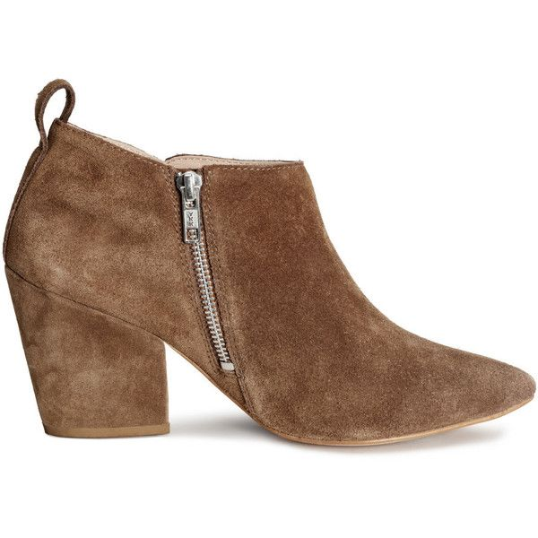 H&M Suede boots (€67) found on Polyvore