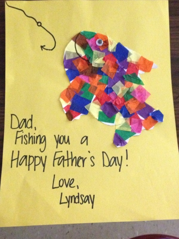 Cute Fathers Day card craft! | Gift Ideas | Pinterest ...