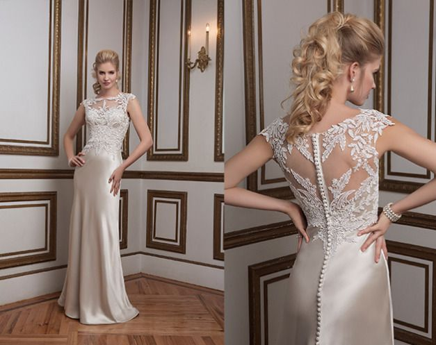 79 Best Images About Slim Fit Wedding Dress On Pinterest
