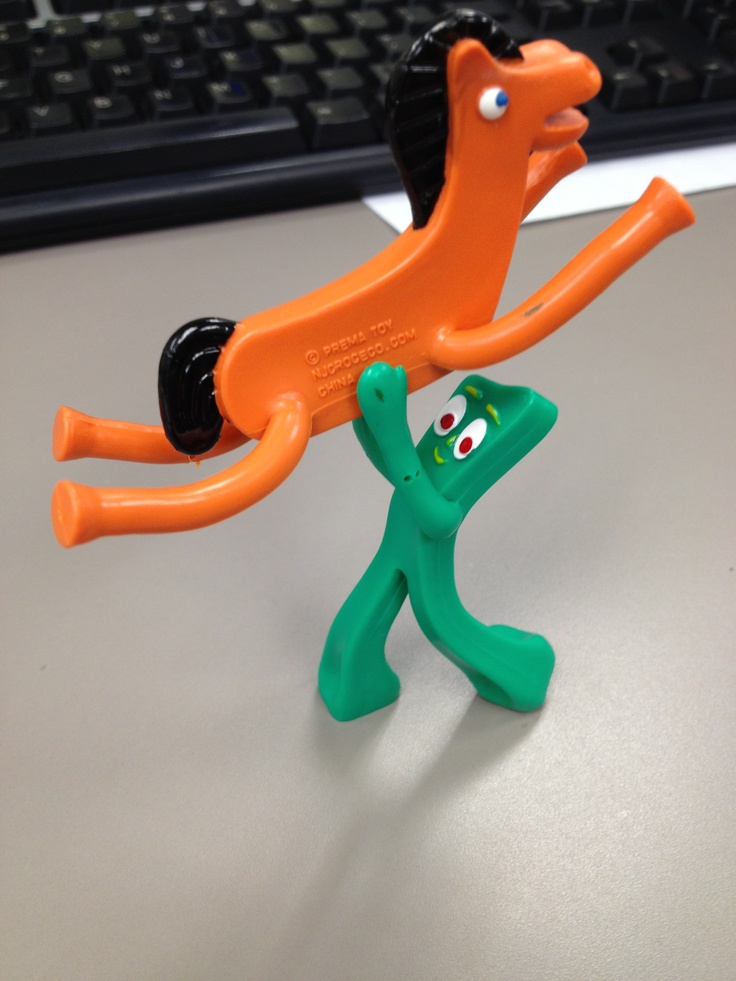 17 Best Images About Gumby And Pokey On Pinterest