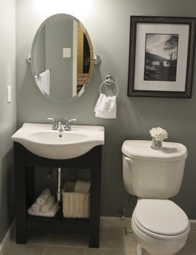 12 best images about Small Half Bath Ideas on Pinterest on Small Bathroom Ideas Pinterest id=28053