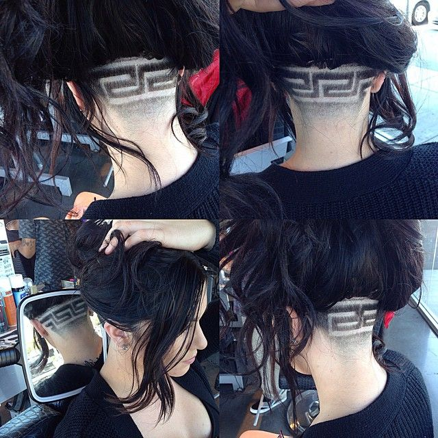 Versace Hair Cut 17 Best Images About Hair Undercut On
