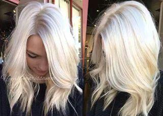 Vanilla Ice Platinum Haircolor Look Book Pinterest