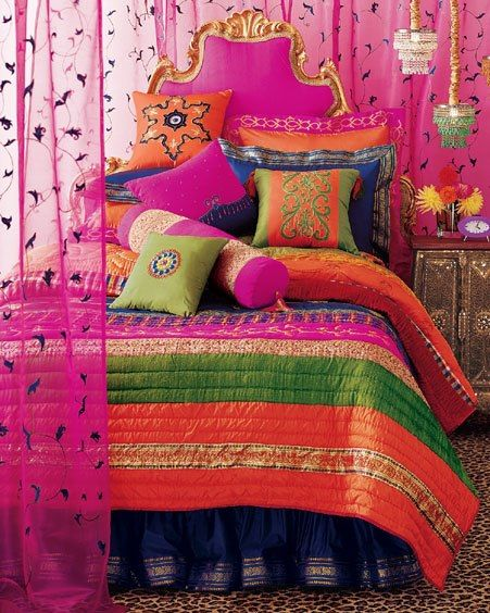 It S Pg Licious Oriental Sunrise Indian Bedroom