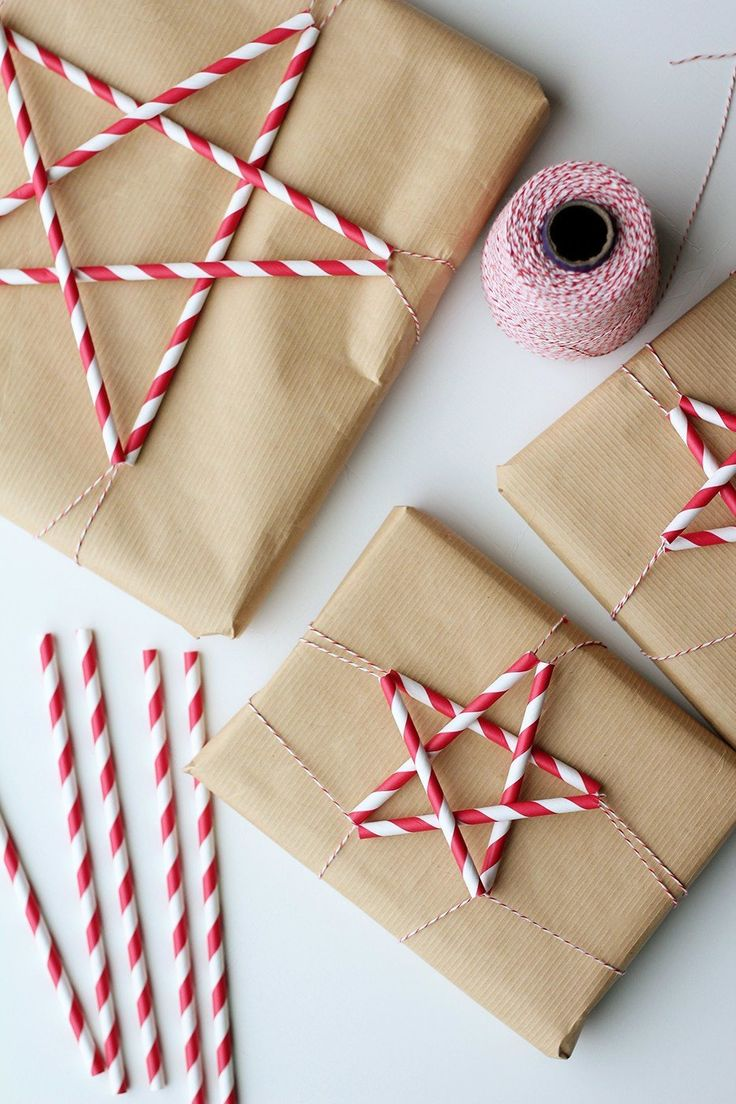 Paper Straw Stars