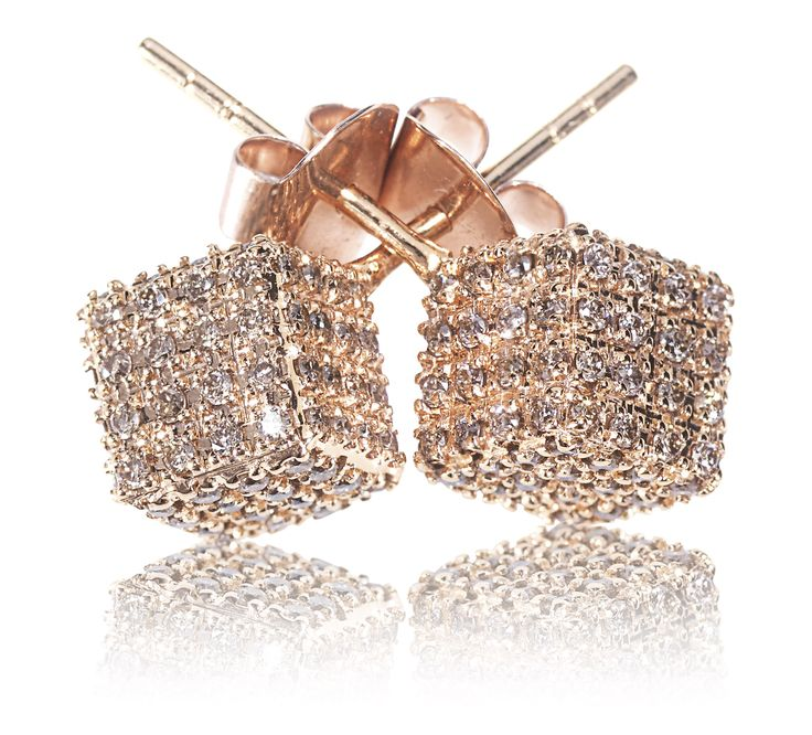 Rose Gold Champagne Diamonds