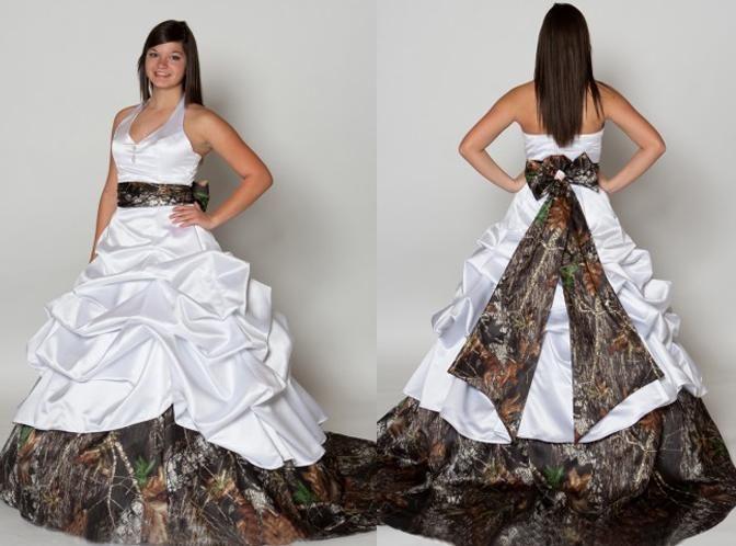 1000+ Ideas About Camo Wedding Dresses On Pinterest