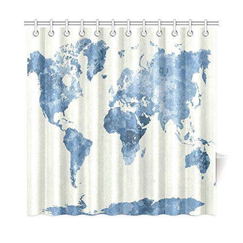 Top 25 Ideas About Custom Shower Curtains On Pinterest
