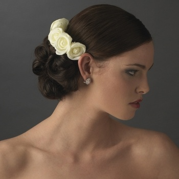 yellow tea rose wedding hair b for your bridesmaids wedding ideas for brides grooms