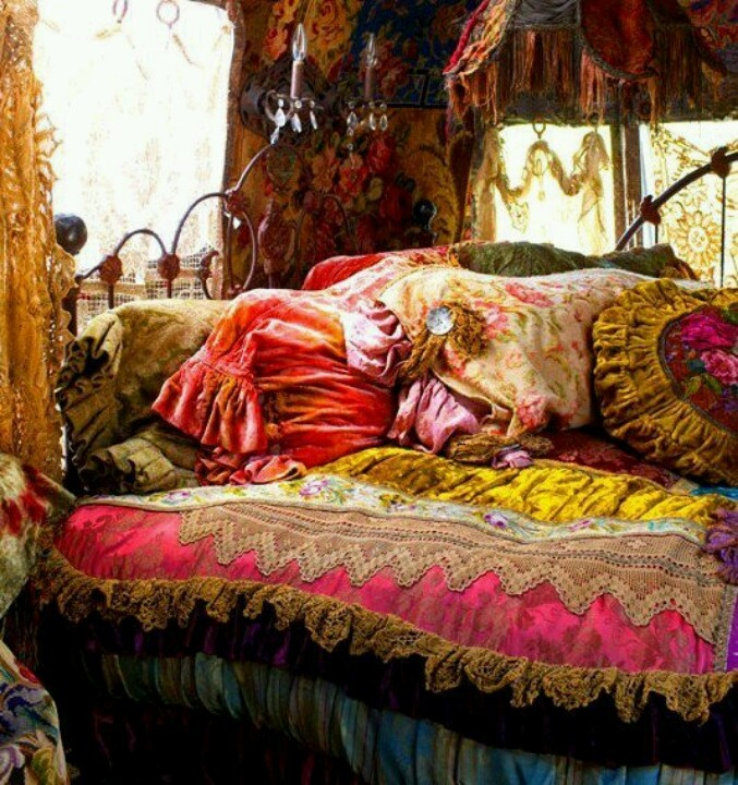 Comfy Hippie Bed Dream Room Pinterest Beautiful