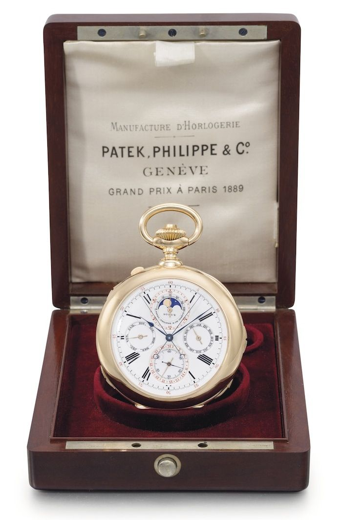 First Ever Grand Complication Pocket Watch by Patek Philippe, Made for Stephen Palmer – $2,251,750