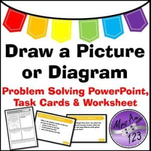 Draw a Picture or Diagram Problem Solving PowerPoint, Task