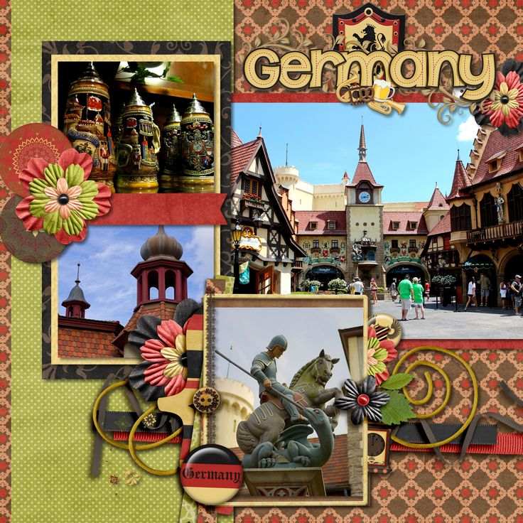Kellybell Designs Bavarian Adventure Kit Word Art And