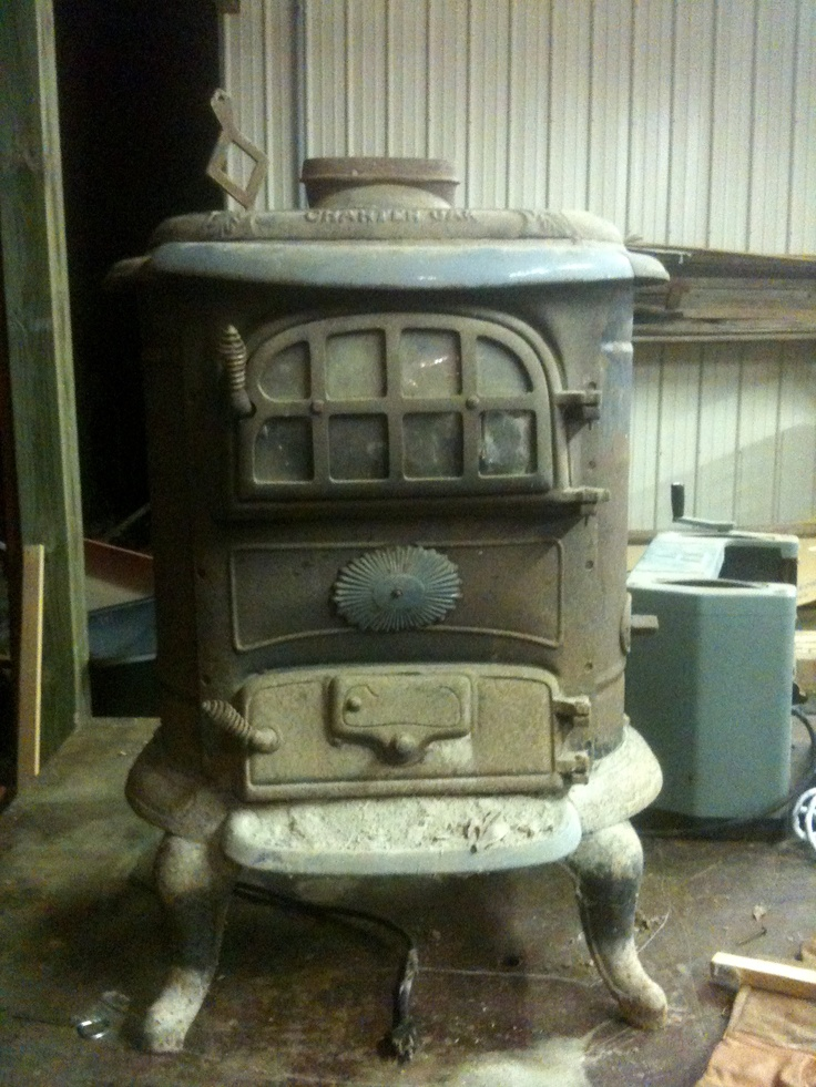 Our New Wood Burning Stove Charter Oak Stove Model 614