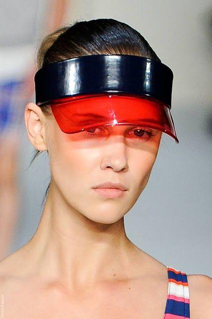 Transparent Sun Visor Cap Szukaj W Google Inspiration