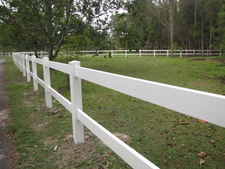 #pvc #eco #no-maintenance #garden #materials White Vinyl