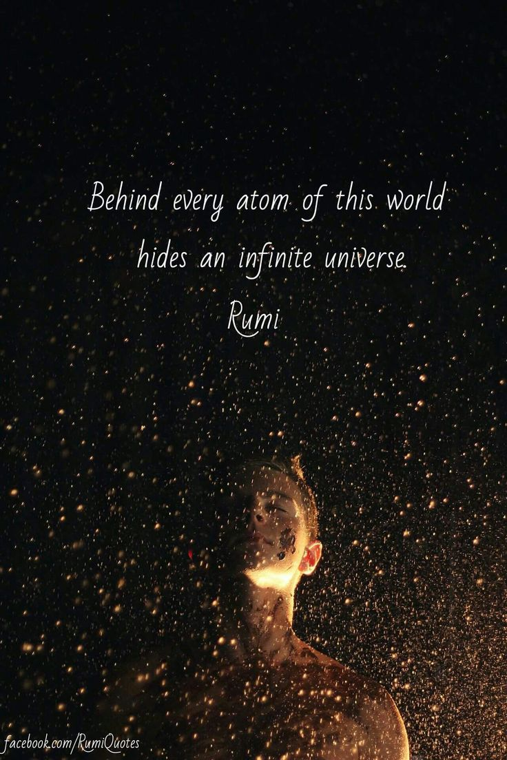 Rumi Quotes About Universe