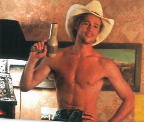 Brad Pitt In 39Thelma Amp Louise39 Swoon