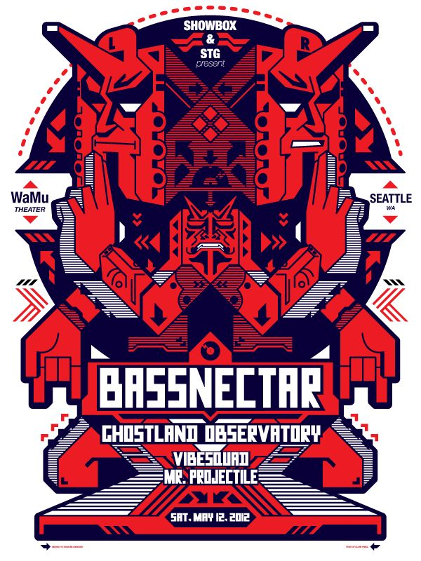 Bassnectar – Seattle 2012 – by Junichi Tsuneoka