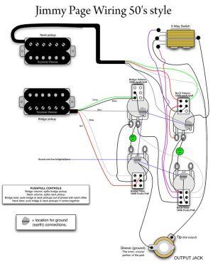 Jimmy Page 50s Wiring  MyLesPaul | Instruments