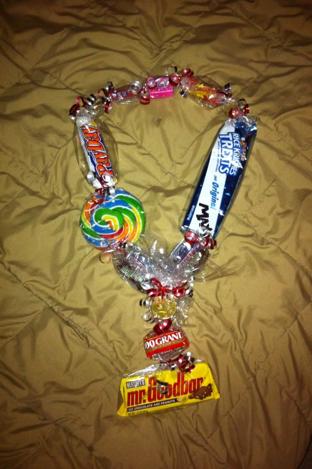 Candy Lei Candy Necklace Gift Ideas Pinterest Leis