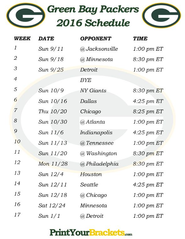 25 Best Ideas About Packers Schedule On Pinterest