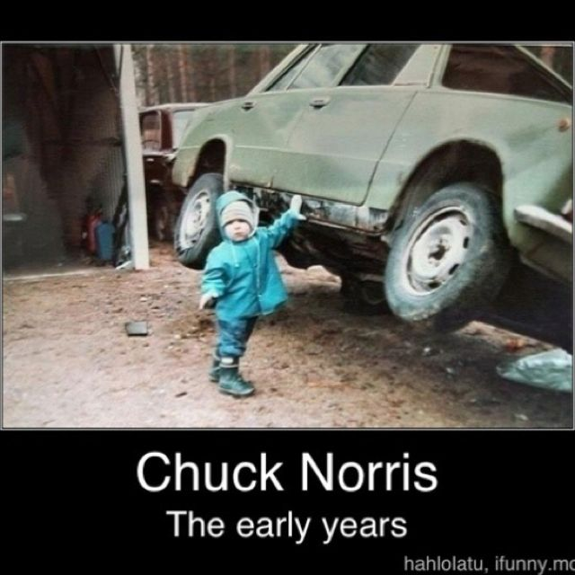 Chuck Norris jokes never get old