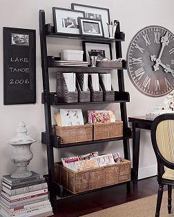 pottery barn bookshelves   Pottery Barn Ladder Shelf   Flickr – Photo Sharing!